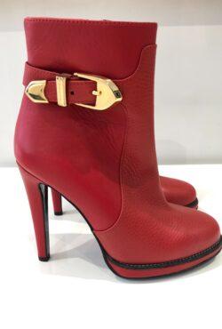 Moschino laars rood